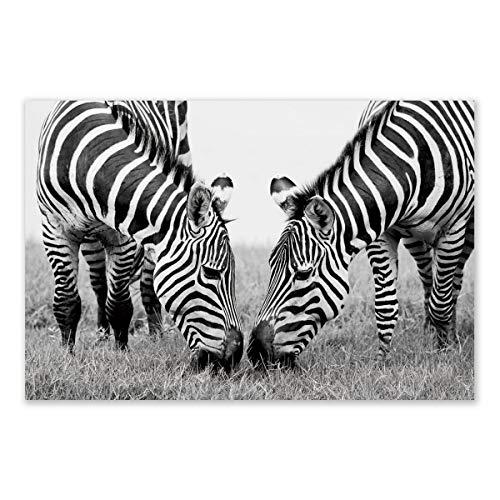 Cuadro Lienzo Africano Negro étnico para salón de 120 x 80 cm Arabia - LOLAhome