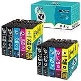 Oeggoink 29XL Cartucho de tinta para Epson 29 29 XL para Epson Expression Home XP-342, XP-245, XP-442, XP-235 XP-335 XP-432 XP-435 XP-332 XP-345 XP-247 XP-445 (10 pack)
