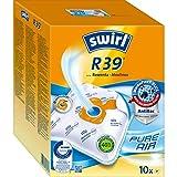 Swirl R39 MicroPor Plus Staubsaugerbeutel für Rowenta und Moulinex Staubsauger 10er Pack