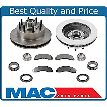2000 2001 2002 for Ford Excursion 4WD Front /& Rear Brake Rotors and Pads