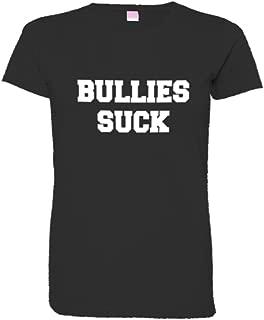 Womens Bullies Suck Love Dont Hate School NeverAgain HQ Tee Shirt