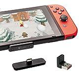 対応Nintendo Switch / Switch Lite PS4 Macbook PC用 GuliKit Route Air Bluetooth アダプター aptX低遅延 無線 Bluetooth BTH オーディオ レシーバー トランスミッターワイヤレス Bluetoothイヤホンへの接続をサポート
