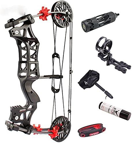 NC93 1Set 30-60lbs Archery M109E New mail order Ball Virginia Beach Mall Compound Steel Bow Bowfish