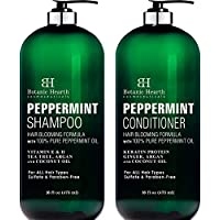 Botanic Hearth Peppermint Oil Shampoo and Conditioner Set