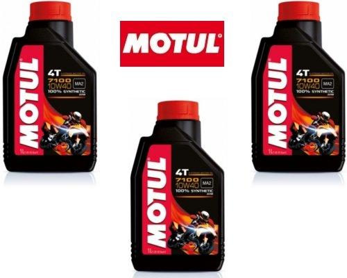 Motul Kit 3 LT Olio 7100 10W40