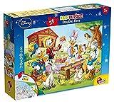 Liscianigiochi Puzzle dwustronne Maxi 35 Miki, 48199