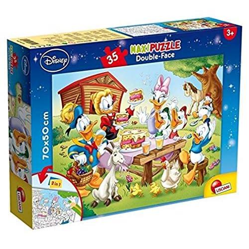 Lisciani Giochi- Mickey Mickey & Friends Disney Puzzle, 35 Pezzi, Multicolore, 48199