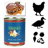 Veritas Hundemenü 28 x 800 g Dosen in 6 Geschmacksrichtungen Hundenahrung Premium Nassfutter Hundefutter ohne Konservierungsstoffe, keine chemischen Farb-, Duft- und Lockstoffe - 4