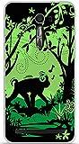 ONOZO TPU Gel Case for Asus Zenfone 2 Laser Monkey1