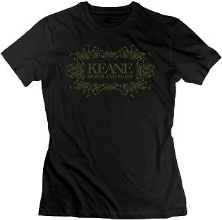 JohnHA Women's Keane Hopes and Fears Classic T-Shirt Black