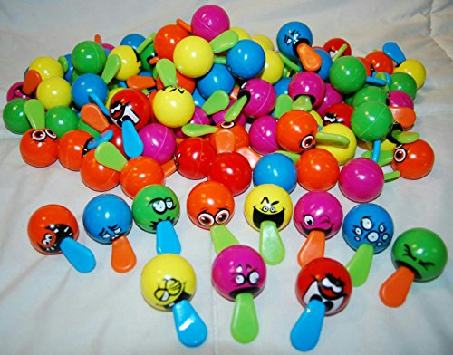 GOODY BAGS CARNIVALS VENDING PARTY FAVORS LOT OF 24 TONGUE TUGGERS BALLS