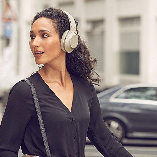 ソニーワイヤレスノイズキャンセリングヘッドホンh.earon2WirelessNCWH-H900N:Bluetooth/AmazonAlexa搭載/ハイレゾ対応最大28時間連続再生密閉型マイク付き2017年モデルペールゴールドWH-H900NN