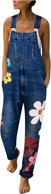 BZSHBS Womens Ripped Denim Bib Max 44% OFF Stra Adjustable Overalls Store Jumpsuit