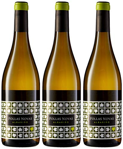 Paco & Lolca Follas Novas, Vino Blanco - 3 botellas de 75 cl, Total: 2250 ml