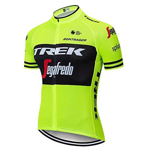 TOPBIKEB Estive Ciclismo Moda Set Jersey, Ciclismo Maglia Manica Corta per Uomo