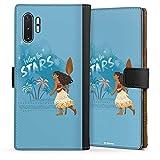 DeinDesign Étui Compatible avec Samsung Galaxy Note 10 Plus Étui Folio Étui magnétique Disney...