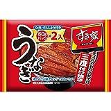 すき家 うなぎ 4パック入(80g×4)タレ 山椒 付き 冷凍食品