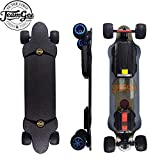 Teamgee H20T Electric Skateboard with Remote Long Boards Skateboard Designed for Teens and Adults, 26PMH Top Speed, Hub Motors 1200W, 4 Speed Adjustment