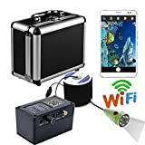 Wifi Wireless 20M Underwater Fishing Camera Video Recording For IOS Android APP Supports