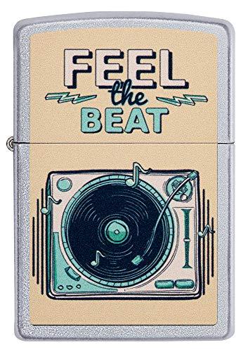 Zippo Feel The Beat Music Design Accendino, Ottone, 5,83,81,2