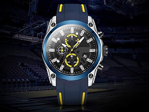 Voigoo Männer Neue Sportuhren Männer Top-Marke Chronograph Mode Quarz-Uhren Männlich Leuchtzeiger Relogio Masculino