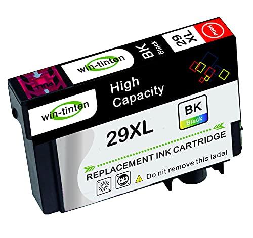 Win-Tinten 1 paquete negro de repuesto para Epson T29xl T2991 compatible con Epson Expression Home XP-235 XP-335 XP-435 XP-245 XP-247 XP-342 XP-442 XP-445 XP-432 XP-435
