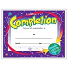 TREND enterprises, Inc. Certificate of Completion Colorful Classics Cert's, 30 ct