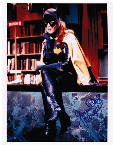 Yvonne Craig as Batgirl Genuine Autograph from the Batman '66 TV Show Signed 8' x 10' Autographed Photo C