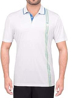 Camisa Polo Fila Aztec Box Stripes Branca