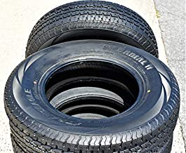 Set of 2 (TWO) Transeagle ST Radial II Steel Belted Premium Trailer Tires-ST225/75R15 117/112L LRE 10-Ply