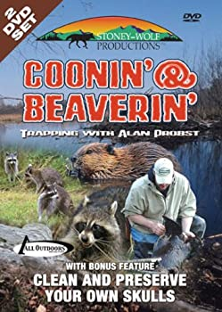 DVD Coonin' & Beaverin' Trapping with Alan Probst Book