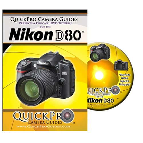 Nikon D80 Instructional DVD by QuickPro Camera Guides