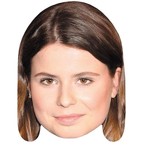 Celebrity Cutouts Luisa Neubauer (Smile) Maske aus Karton