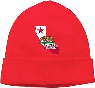 Amayc California Republic Warm Cap Fashion Keep Warm Mens Womens Beanies Hats Cool