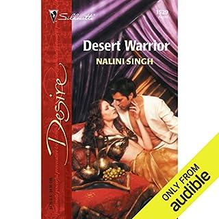 Desert Warrior audiobook cover art