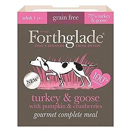 Forthglade 7 x 395g Gourmet Grain Free Turkey & Goose W/pumpkin & Cranberry