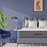 CHITA 12 Inch Queen Mattress Cool Gel Memory Foam Mattress with Cooling Cover - CertiPUR-US Certified - Bed in a Box – Medium Firm - 365 Night Trial - Removable Cover - 10 Years Warranty