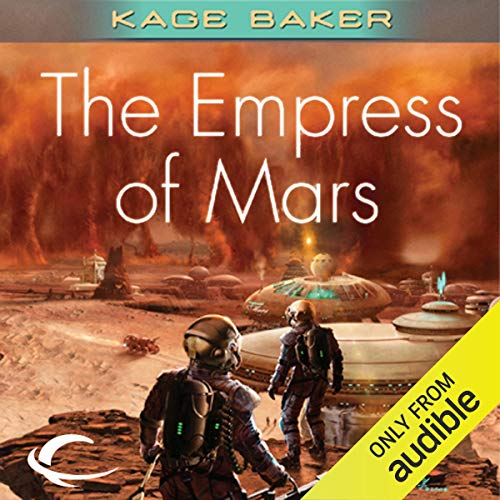 The Empress of Mars audiobook cover art