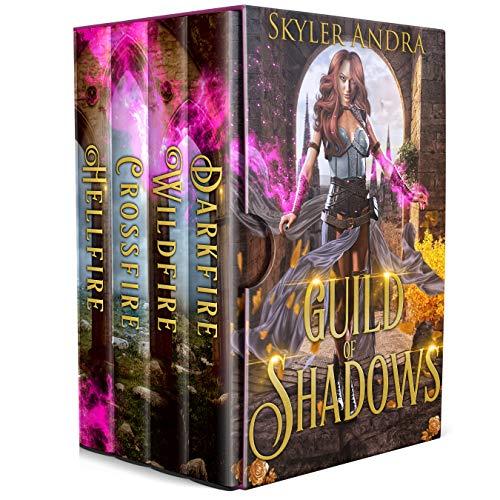 Guild of Shadows Boxset Books 1 to 4: Paranormal Reverse Harem Academy (English Edition)