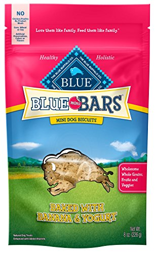 Blue Buffalo Mini Blue Bars Banana & Yogurt Puppy...