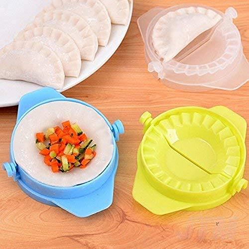 biggroup 2 stks Deeg Empanada Gebak Taart Ravioli Dumpling Mallen Druk Clip Moulds Maker Keuken Gereedschap (Random Kleur)