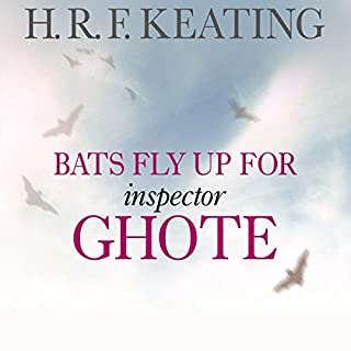 Bats Fly Up for Inspector Ghote cover art