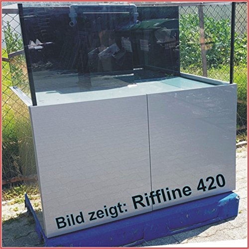 TAB RIFFLINE 500 Aquarium 120x70x60cm Pool 500 Liter Meerwasserkombination