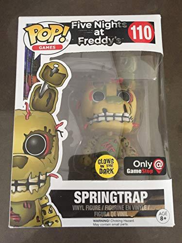 Funko Pop! - Figura Five Nights At Freddy'S - Springtrap Brillante - Figura