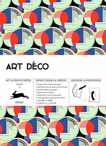 Art Déco: Gift & Creative Paper Book Vol. 75 (Gift & creative papers)