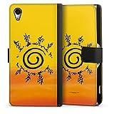 DeinDesign Étui Compatible avec Sony Xperia Z2 Étui Folio Étui magnétique Naruto Shippuden...