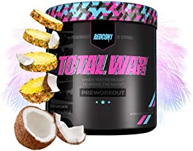 Redcon1 Total War - Limited Edition Line - Pre Workout, 30 Servings, Boost Energy, Increase Endurance and Focus (Vice City)