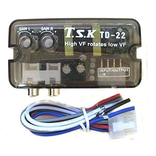 12V TD-22 auto voertuig stereo kanaal High to Low versterker Delayer Car Audio