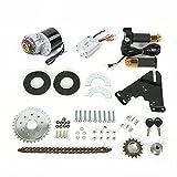 Kit de conversión de bicicleta eléctrica de 350 W y 24 V para bicicletas comunes.