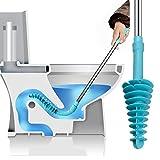Samshow Toilet Plunger, Toilet Dredge Designed for Siphon-Type, Power...
